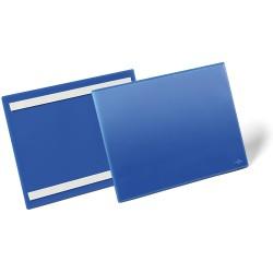 Durable 1798, samolepící kapsa na dokumenty, A4 na šířku, modrá