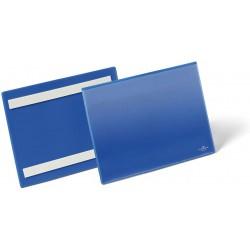 Durable 1795, samolepící kapsa na dokumenty, formát A5 na šířku, modrá