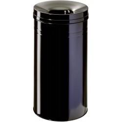 Durable 3327, odpadkový samozhášecí koš Safe +, kulatý, objem 60l, černá