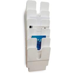 DURABLE prospektový stojan FLEXIPLUS 6 bílý, pro formáty A4