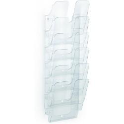 DURABLE prospektový stojan FLEXIPLUS 6 transparentní, pro formáty A4