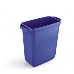 Durable DURABIN 60, odpadkový koš obdélníkového tvaru, kapacita 60 litrů, modrý