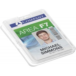 Durable 8928, bezpečnostní pouzdro na ID karty, pro trvalé uzamčení