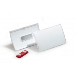 DURABLE 8212, čirá jmenovka Click Fold 40x75 mm s magnetem