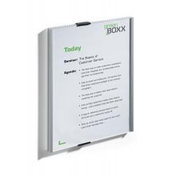 DURABLE 4806, Informační tabule INFO SIGN 210 x 297 mm, A4 na výšku stříbrná