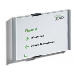DURABLE 4805, Informační tabule INFO SIGN 210 x 148,5 mm, stříbrná