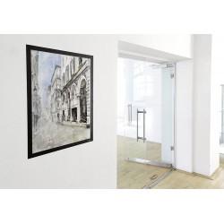 Durable 4996, DURAFRAME POSTER 50x70 cm, samolepící rámeček černý