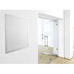 Durable 4996, DURAFRAME POSTER 50x70 cm, samolepící rámeček stříbrný
