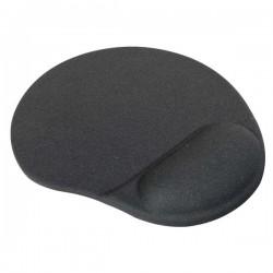 Ergonomická podložka pod myš gelová, černá