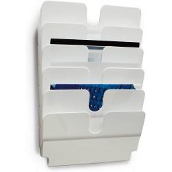 DURABLE prospektový stojan FLEXIPLUS 6 na šířku bílý, pro formáty A4