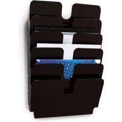 DURABLE prospektový stojan FLEXIPLUS 6 na šířku černý, pro formáty A4