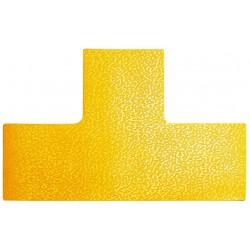 Durable 1700, podlahová značka tvar T, žlutá, sada 10ks