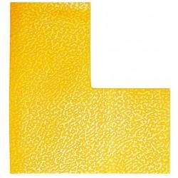 Durable 1702, podlahová značka tvar L, žlutá, balení 10 ks