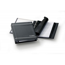 Durable 2377, TELINDEX kroužkový telefonní záznamník A5, grafitový
