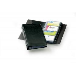 Durable 2383, kroužkový vizitkář VISIFIX pro 200 vizitek, černý