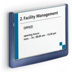 Durable 4861, orientační štítek CLICK SIGN 149x105,5 mm, modrá
