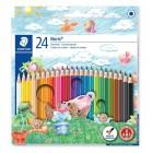 Pastelky 24 barev
