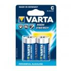 Baterie C - malé monočlánky