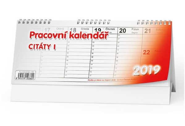 Kalendáře, Diáře 2019 - spokojená kancelář